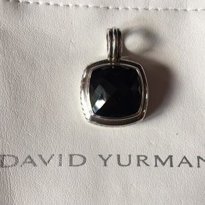 David Yurman Black Onyx Pendant